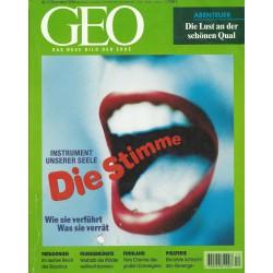 Geo Nr. 12 / Dezember 1998 - Die Stimme