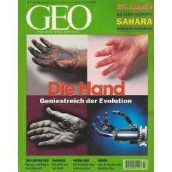 Geo Nr. 7 / Juli 1997 - Die Hand