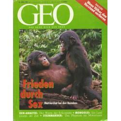 Geo Nr. 5 / Mai 1993 - Frieden durch Sex