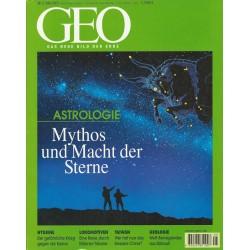 Geo Nr. 5 / Mai 2001 - Mythos und Macht der Sterne
