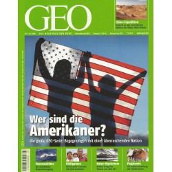 Geo Nr. 7 / Juli 2008 - Wer sind die Amerikaner?