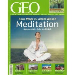 Geo Nr. 1 / Januar 2009 - Meditation