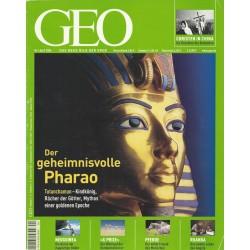 Geo Nr. 4 / April 2004 - Der geheimnisvolle Pharao