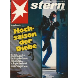 stern Heft Nr.30 / 22 Juli 1982 - Hochsaison der Diebe