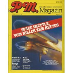P.M. Ausgabe Januar 1/1987 - Space Shuttle