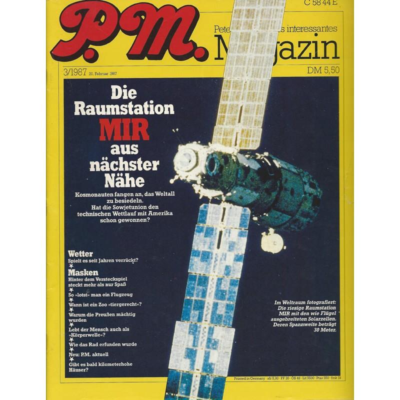P.M. Ausgabe März 3/1987 - Die Raumstation MIR