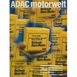 ADAC Motorwelt Heft.7 / Juli 1978 - Rettende Atem-Maske