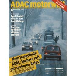 ADAC Motorwelt Heft.12 / Dez. 1985 - Ein ganz normaler Wintermorgen