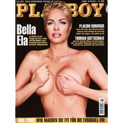 Playboy Nr.6 / Juni 2000 - Ela Weber
