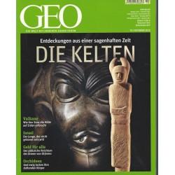 Geo Nr. 10 / Oktober 2012 - Die Kelten